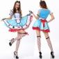万圣节服装马戏团小丑服装魔术师表演服酒吧派对公主舞台演出服装